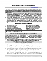 Storeyline Resumes | High Ranking Military Resume Samples