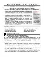 Director of Medical Affairs – Sample