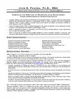 Ph.D Sample 1