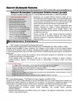 Senior Business Military Resume